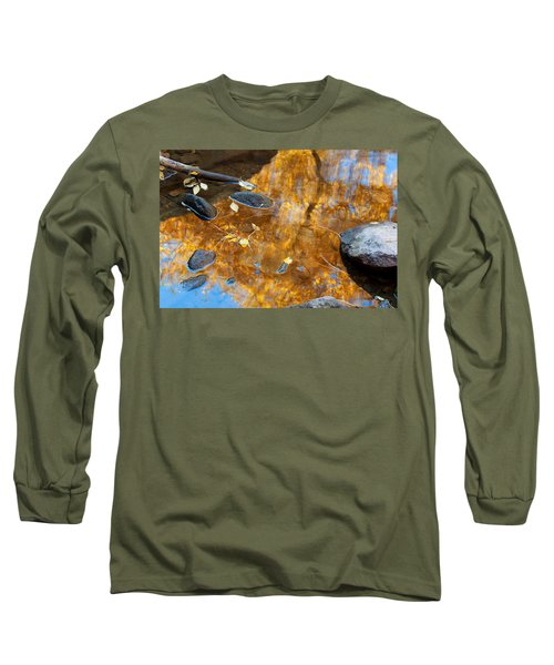 Long Sleeve T-Shirt featuring the photograph The Melting Pot by Jim Garrison