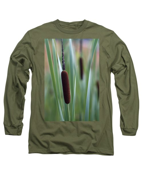 Regal American Cattails Long Sleeve T-Shirt