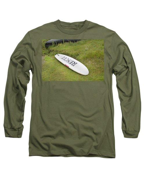 Rescue Keem Beach Ireland Long Sleeve T-Shirt