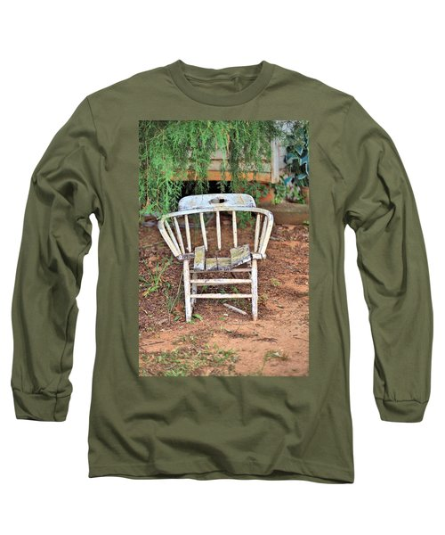 Long Sleeve T-Shirt featuring the photograph Retired by Gordon Elwell