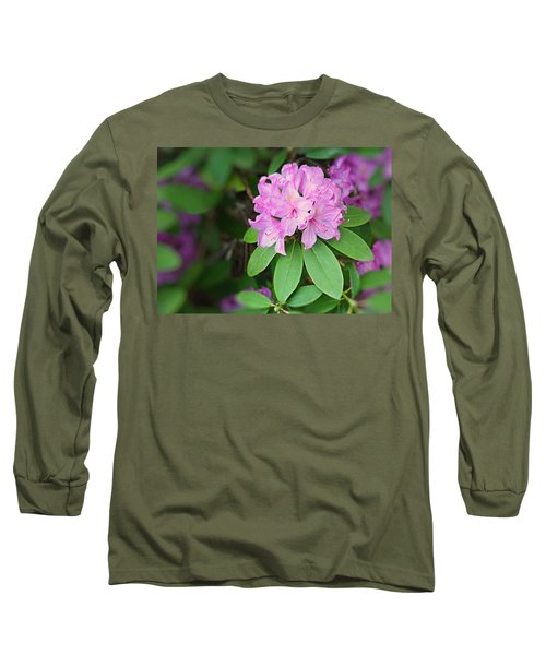 Rhododendron Long Sleeve T-Shirt by Kristin Elmquist
