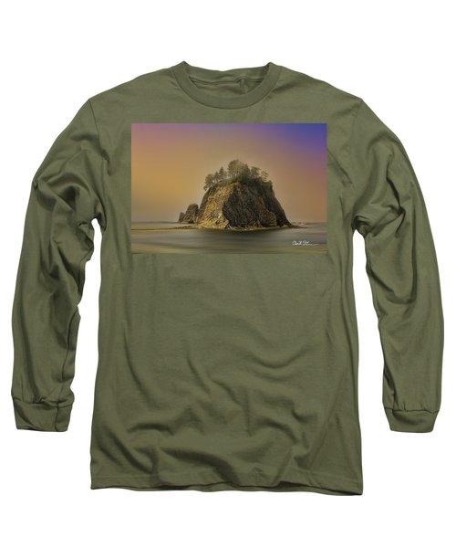 Rialto Beach - Little James Island Long Sleeve T-Shirt