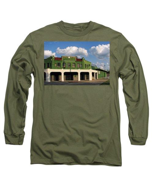 Rickwood Field Long Sleeve T-Shirt by Tom Gort