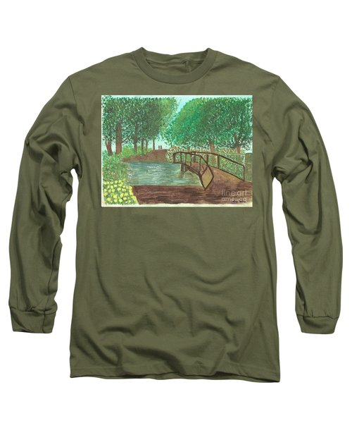 Riding Through The Woods Long Sleeve T-Shirt
