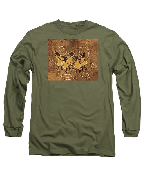 Ring-around-the Rosie Long Sleeve T-Shirt