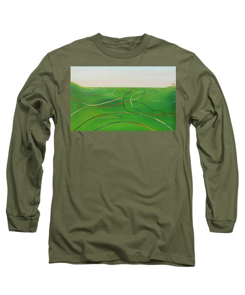 Ripples Of Life 1 Long Sleeve T-Shirt by Tim Mullaney