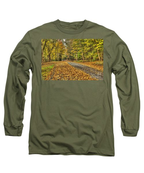 Road Into Woods Long Sleeve T-Shirt