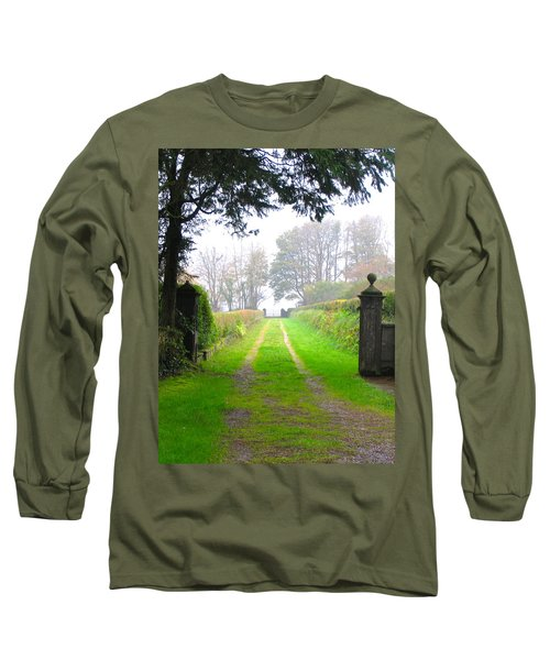 Long Sleeve T-Shirt featuring the photograph Road To Nowhere by Suzanne Oesterling