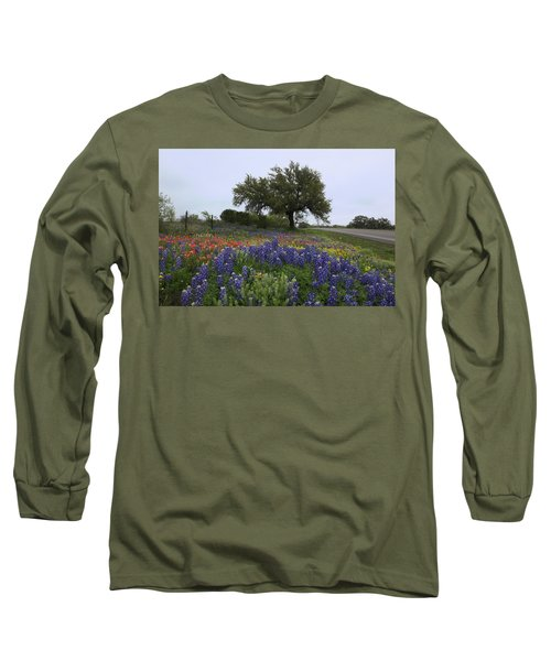 Roadside Splendor Long Sleeve T-Shirt by Susan Rovira