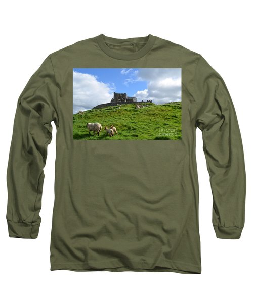 Rock Of Cashel In The Distance Long Sleeve T-Shirt