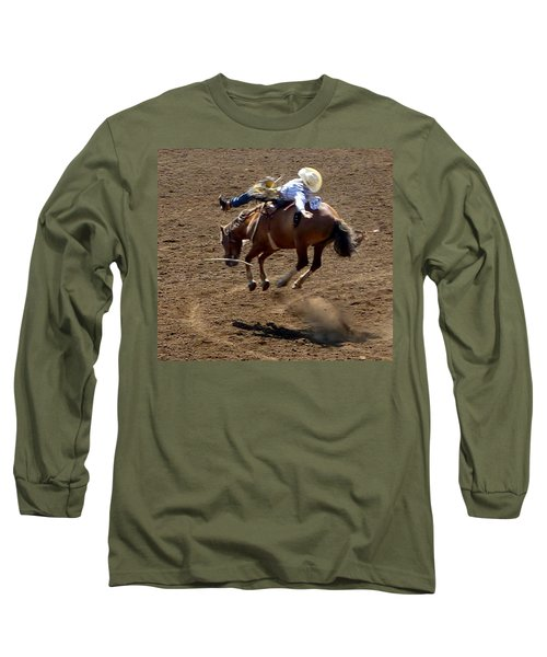 Rodeo Time Bucking Bronco 2 Long Sleeve T-Shirt