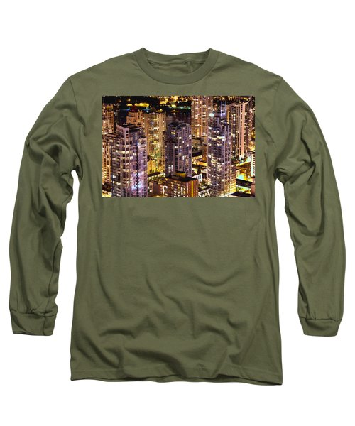 Romantic Yaletown Vancouver Canada Mcdxxxi Long Sleeve T-Shirt