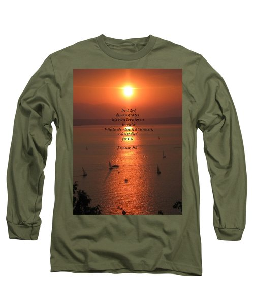 Romans 5 8 Long Sleeve T-Shirt