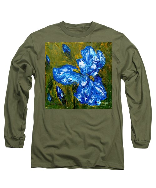 Romantic Iris Long Sleeve T-Shirt