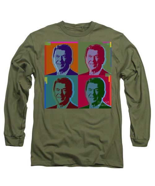 Ronald Reagan Long Sleeve T-Shirt