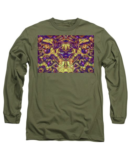 Long Sleeve T-Shirt featuring the painting Rooted by Omaste Witkowski