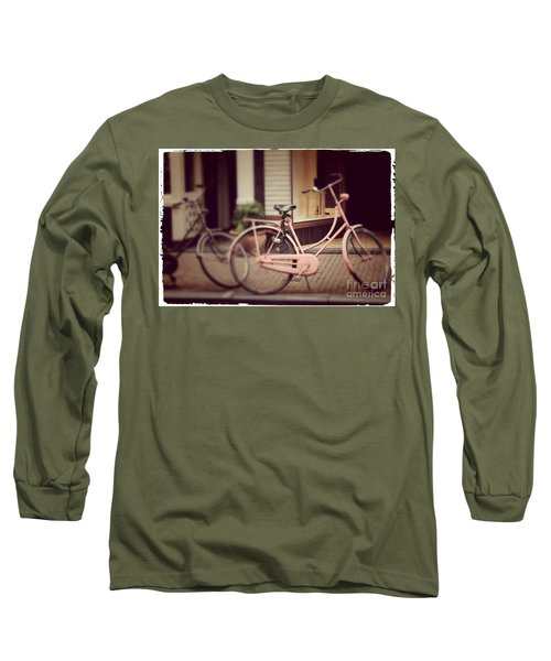 Rose Bike Long Sleeve T-Shirt