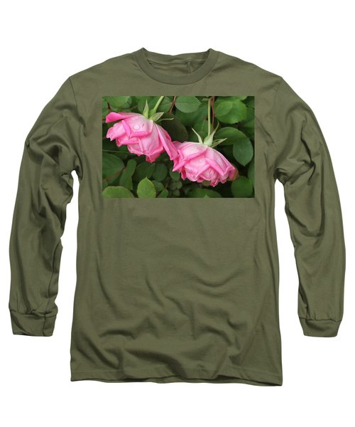 Roses After The Shower Long Sleeve T-Shirt