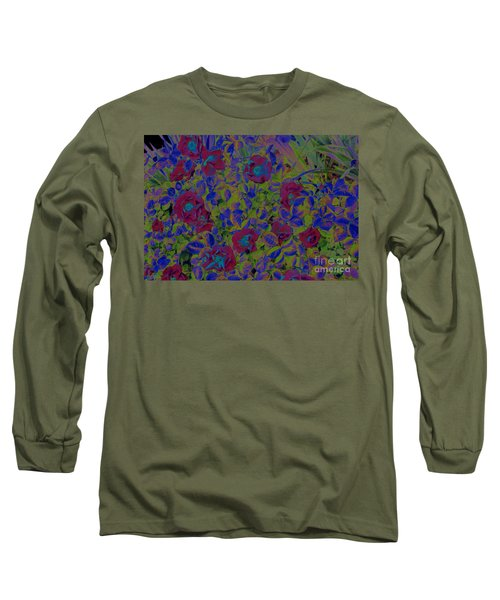 Long Sleeve T-Shirt featuring the photograph Roses By Jrr by First Star Art