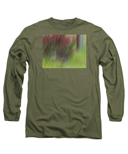 Roses Long Sleeve T-Shirt by Mark Alder