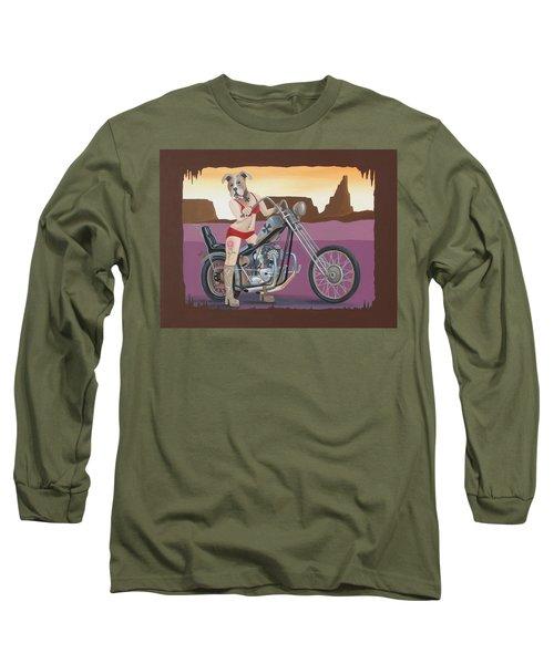 Rosie's Chopper Long Sleeve T-Shirt