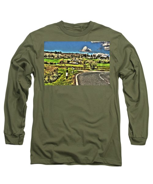 Long Sleeve T-Shirt featuring the photograph Round The Bend by Doc Braham