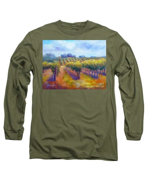 Rows Of Vines Long Sleeve T-Shirt