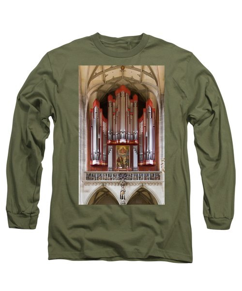 Royal Red King Of Instruments Long Sleeve T-Shirt