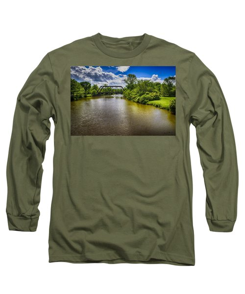 Long Sleeve T-Shirt featuring the photograph Royal River by Mark Myhaver