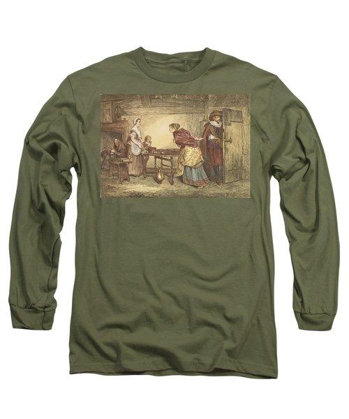 Royalists Seeking Refuge In The House Long Sleeve T-Shirt