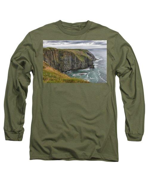 Rugged Landscape Long Sleeve T-Shirt by Eunice Gibb