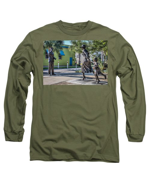 Running For The Train Long Sleeve T-Shirt