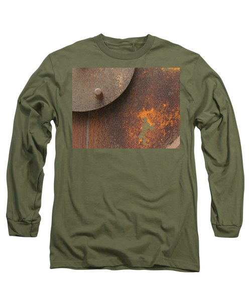 Rusty Abstraction Long Sleeve T-Shirt
