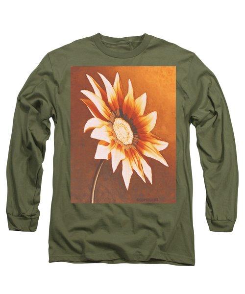 Rusty Gazania Long Sleeve T-Shirt