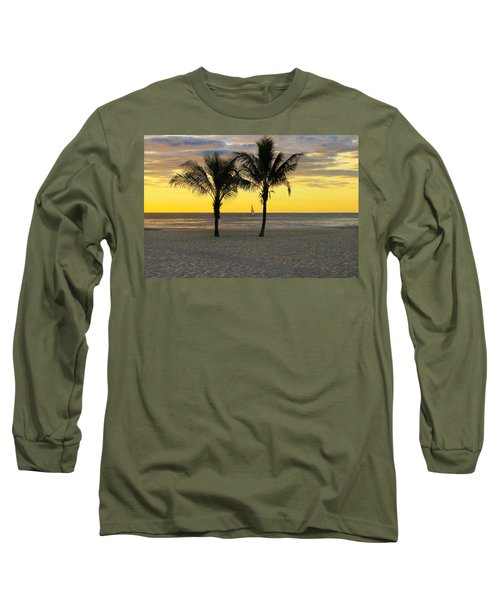 Sail Away At Dawn Long Sleeve T-Shirt