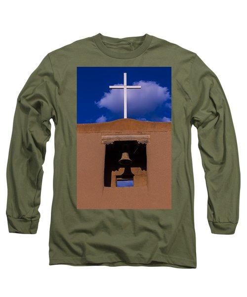 San Miguel Church Bell And Cross Long Sleeve T-Shirt