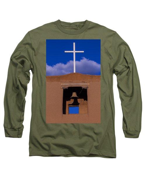 San Miguel's White Cross Long Sleeve T-Shirt