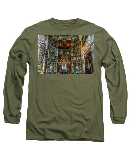 San Xavier Mission Long Sleeve T-Shirt