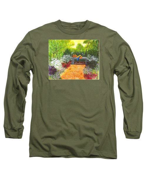 Long Sleeve T-Shirt featuring the painting Sanctuary by Patricia Griffin Brett