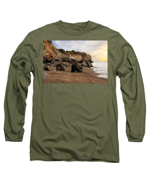 Sand And Rocks Long Sleeve T-Shirt