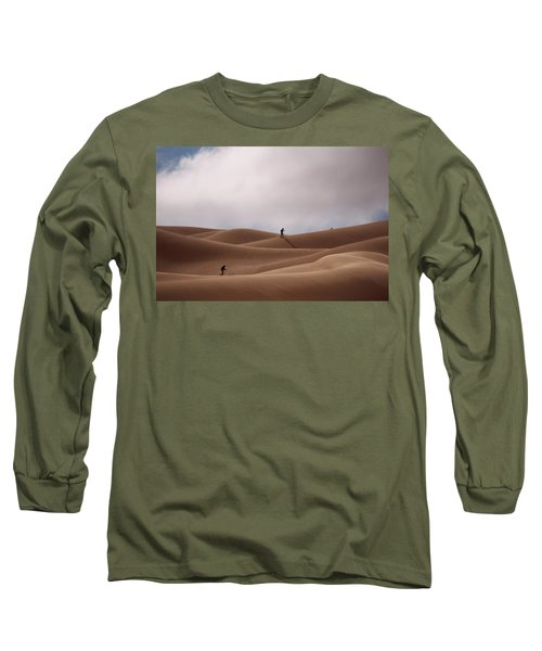 Sand Skiing Long Sleeve T-Shirt
