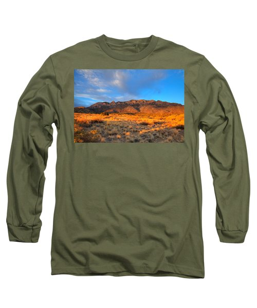 Sandia Crest Sunset Long Sleeve T-Shirt