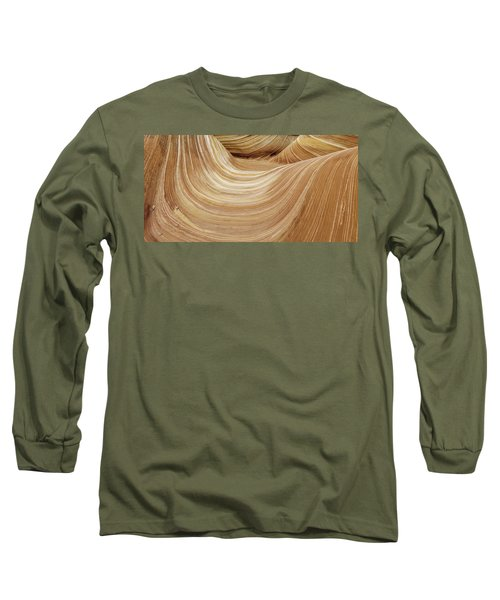 Sandstone Lines Long Sleeve T-Shirt