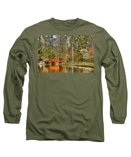 Sarah P. Duke Gardens Long Sleeve T-Shirt by Benanne Stiens