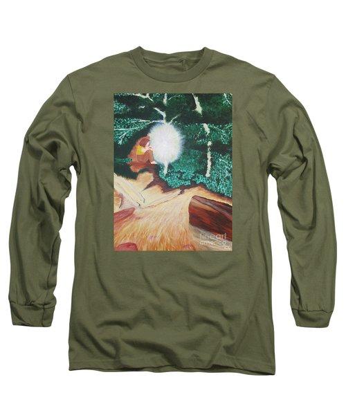 Saying Hello Long Sleeve T-Shirt by Cheryl Bailey