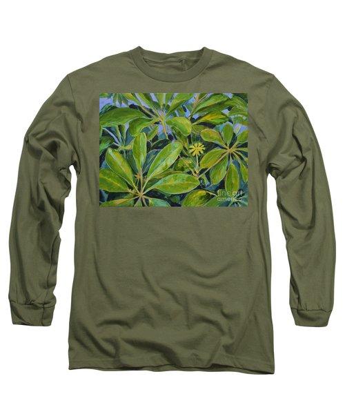 Schefflera-right View Long Sleeve T-Shirt