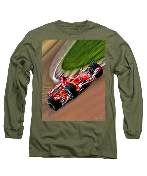 Schumacher Bend Long Sleeve T-Shirt