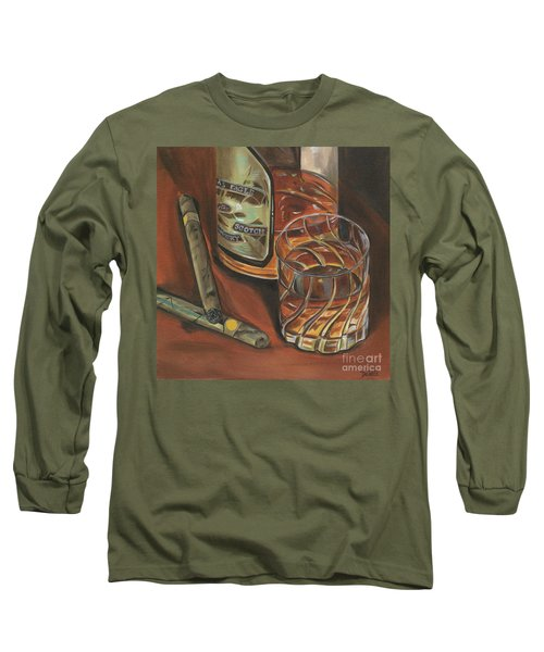 Scotch And Cigars 3 Long Sleeve T-Shirt