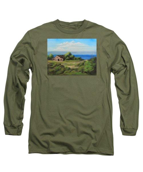 Sea Breeze Long Sleeve T-Shirt by Remegio Onia