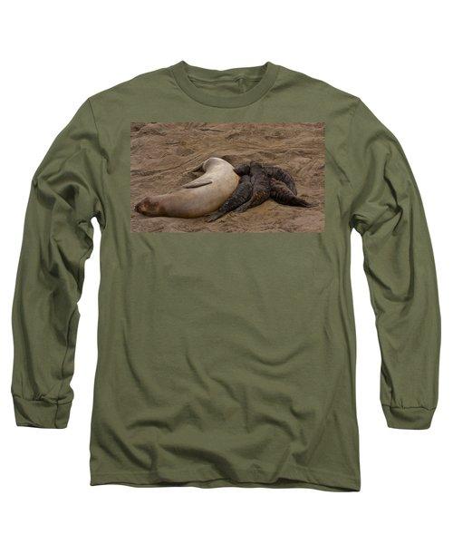 Seal And Pups Long Sleeve T-Shirt